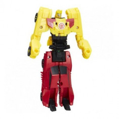 Figurine Transformers - Crash Combiners - Sideswipe vs Bumblebee - Figurina Povesti Hasbro