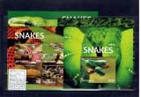Gambia - snakes - set 2015 - 2 klbg +2 bl., Fauna, Nestampilat