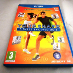 Joc Your Shape Fitness Evolved 2013, Wiiu, original, alte sute de jocuri! - Jocuri WII U, Sporturi, 3+, Multiplayer