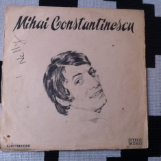Mihai Constantinescu album disc vinyl lp muzica pop usoara slagare 1973