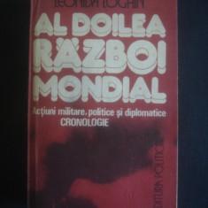LEONIDA LOGHIN - AL DOILEA RAZBOI MONDIAL - Istorie