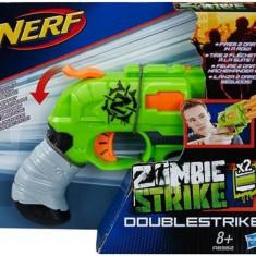 Pistol Nerf Zombie Strike Doublestrike Blaster - Pistol de jucarie