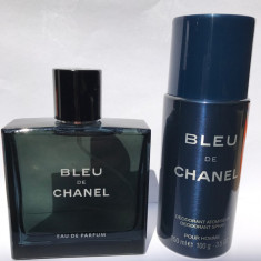 Bleu de Chanel EDP 100ml tester + cadou deodorant spray 150ml Transport GRATUIT - Parfum barbati, Apa de parfum
