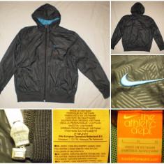 Bluza Nike (L) casual sport retro vintage barbati trening geaca - Bluza barbati, Marime: XL, Culoare: Din imagine