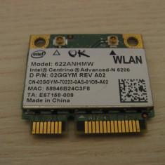 Placa wireless Dell Latitude E6410 Centrino Advanced-N 6200 622ANHMW 02GGYM