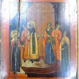 Icoana pe lemn Rusia, sec XIX - Pictor roman