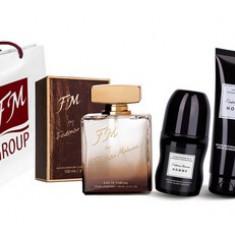 Set cadou barbati FM 199 - Parfum barbati Federico Mahora, Apa de parfum, 50 ml