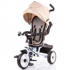 Tricicleta Chipolino Sportico Beige - Tricicleta copii