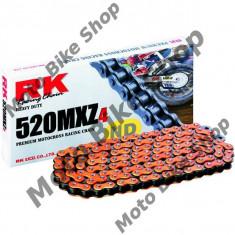 Lant transmisie RK 520 /120L, portocaliu, - Lant moto