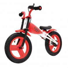 """Bicicleta Copii fara pedale cu frane 12"""" Rosu"""