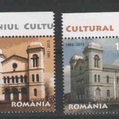 2013 Romania, LP 1967 - Templul Mare Evreiesc din Radauti-MNH - Timbre Romania, Case, Nestampilat