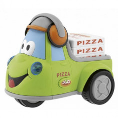 Jucarie Masinuta Funny Pizza - Jucarie pentru patut Chicco