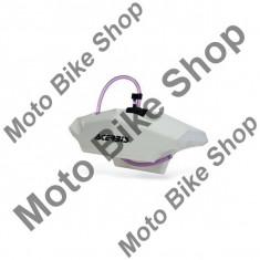 Rezervor aditional Acerbis, alb, 2.1 litri, montare pe ghidon, - Componente moto
