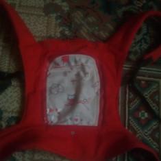 Sistem ergonomic/marsupiu bebe - Marsupiu bebelusi, Rosu
