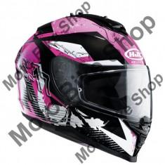 HJC DAMENHELM IS17 PINK ROCKET MC-8, schwaz-pink, XS=53-54, 15/015, - Stikere Moto