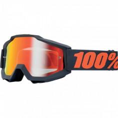 Ochelari cross/enduro 100% GunMetal lentila clara - Ochelari moto