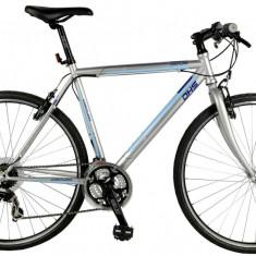 Bicicleta DHS Contura 2863 Culoare Gri – 480mm - Bicicleta Cross, 19 inch, Otel