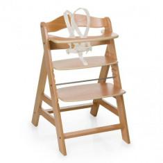 Scaun de Masa din Lemn Alpha Plus B Natur - Set mobila copii