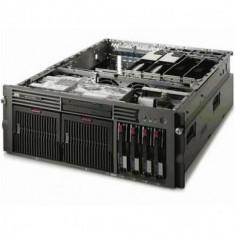 Server Refurbished HP ProLiant DL585 G1 Rack 4U, 4x Opteron Dual Core 875 2200Mhz, 32GB Ram DDR2, 2x 146GB, interfata SAS, HDD, CD-ROM, RAID, 2 surs - Server HP