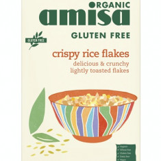 Fulgi de orez crispy fara gluten bio 175g - Bufet
