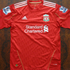 Tricou Liverpool 2011 Fernando Torres - Tricou barbati Adidas, Marime: 42, Culoare: Rosu