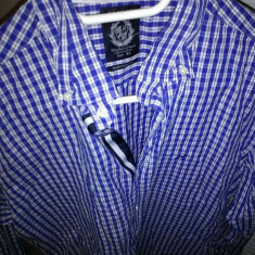 Camasi - Camasa barbati Made in Italia, Marime: 42, Culoare: Albastru