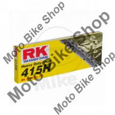 Lant transmisie RK 415H/126, deschis, cu cheita de siguranta, - Lant moto