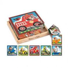 Cuburi Vehicule - Jocuri Logica si inteligenta