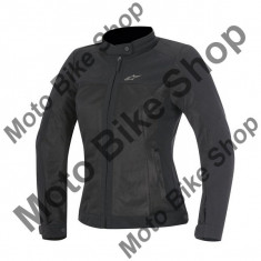 Geaca Textila Fete Alpinestars Eloise, negru, M, - Imbracaminte moto