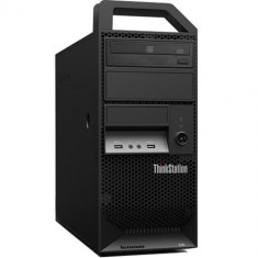 Workstation Refurbished Lenovo ThinkStation E30 Tower, Intel Xeon E3-1230, 8GB Ram DDR3, Hard Disk 500GB S-ATA, DVDRW, placa video dedicata nVidia Q - Sisteme desktop fara monitor Lenovo, Windows 10