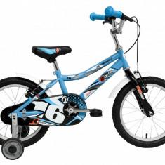 Bicicleta Copii DHS Speed 1603 (2016) Culoare Albastru, 9 inch