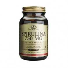 Spirulina 750mg 100tablete