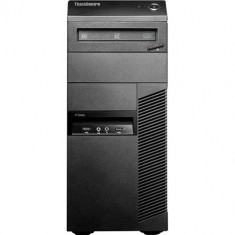 Calculator Refurbished Lenovo ThinkCentre M81p Tower, Intel Core i3-2100, 4GB Ram DDR3, Hard Disk 250GB S-ATA, DVDRW, port Serial, Windows 10 Home R - Sisteme desktop fara monitor