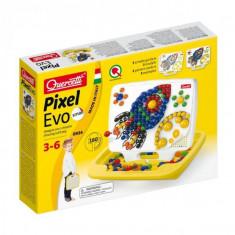 Joc Creativ Pixel Evo Quercetti Creatie Imagini Si Desene Mozaic Pentru Baieti 160 Piese - Jocuri arta si creatie