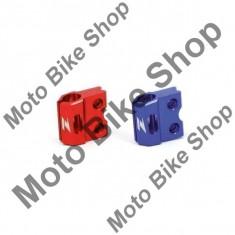 Prindere furtun frana fata YZ125+250/05-08 = YZF250+450/05-08, albastru, - Furtune frana Moto