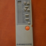Telecomanda aer conditionat MITSUBISHI ELECTRIC , ORIGINALA, IMPECABILA (AC) !!!