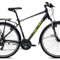 """Bicicleta Devron Urbio T1.8 M – 495/19.5"""", Acid Black - Bicicleta de oras"""