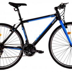Bicicleta DHS Contura 2863 (2016) Culoare Negru 480mm - Bicicleta Cross, 19 inch