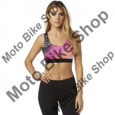 FOX GIRL SPORTS BRA HYPED, berry punch, DS, 17/196, - Bustiera dama