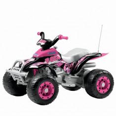 Corral T-Rex, Peg Perego, Pink - Masinuta electrica copii
