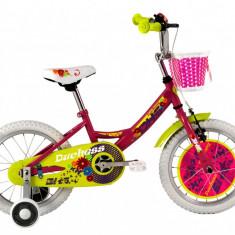 Bicicleta Copii DHS Duchess 1602 (2016) Culoare Roz
