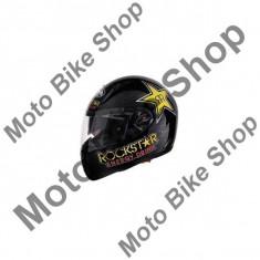 Casca integrala Airoh Pit One Xr Rockstar, negru, L=59-60, - Stikere Moto
