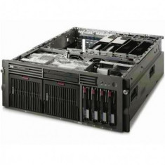 Server Refurbished HP ProLiant DL585 G1 Rack 4U, 2x Opteron Dual Core 875 2200Mhz, 16GB Ram DDR2, 2x 146GB, interfata SAS, HDD, CD - Server HP