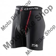 Pantaloni scurti de compresie EVS TUG 03 Vented, negru, XL, - Imbracaminte moto
