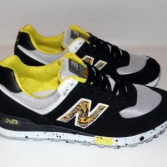 Adidasi NEW BALANCE 574 - Noua Colectie !!! - Adidasi dama New Balance, Culoare: Negru, Marime: 36, 38, 39, 40, Textil