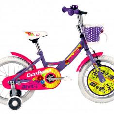 Bicicleta Copii DHS Duchess 1602 (2016) Culoare Violet