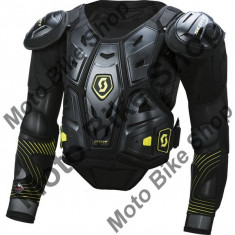 Scott Protektorjacke Commander 2, Schwarz/Grun, Xl=180-200cm, P:16/053, - Protectii moto