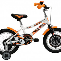 Bicicleta Copii DHS Speed 1401 (2016) Culoare Alb