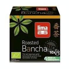 Ceai verde japonez Bancha prajit bio la pliculete 15g - Ceai naturist