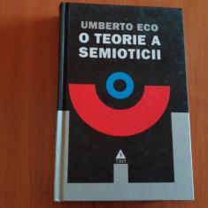 O TEORIE A SEMIOTICII- UMBERTO ECO - Carte Informatica